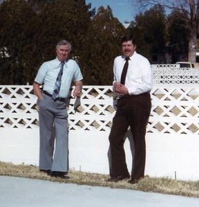 Harry Miller on left
