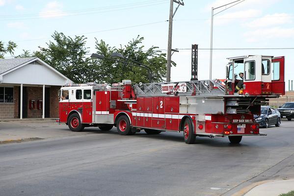 Cicero Fire Department Apparatus July 13, 2008