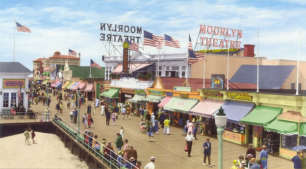 Ocean City, NJ Boardwalk History