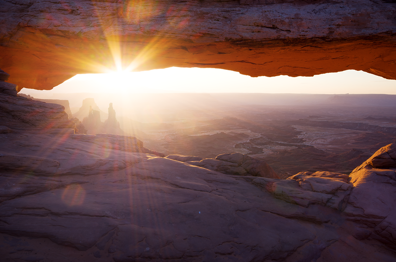 """The One and Only Mesa"" Mesa Arch Canyonlands National Park, Utah"