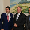 UK MP Liam Fox today met with the Chief Minister Fabian Picardo and Deputy Chief Minister Dr Joseph Garcia at Number Six Convent Place