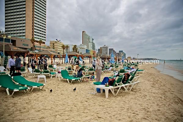 ISRAEL, Tel Aviv. Beach (3.2016)
