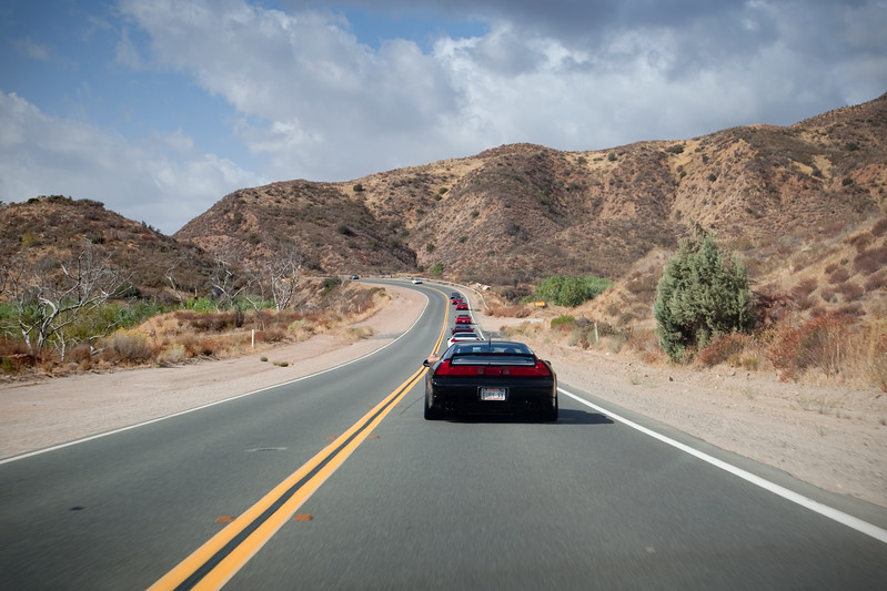 2009 10/04: CalCoastal NSX Canyon Drive IX