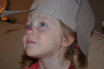 Maddie is a Cllown 2014-11-10
