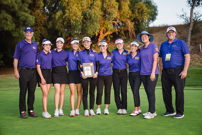 2019 DBHS Girls golf CIF Western Hills