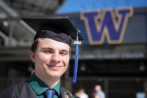 Andy Swinnerton UW Graduation