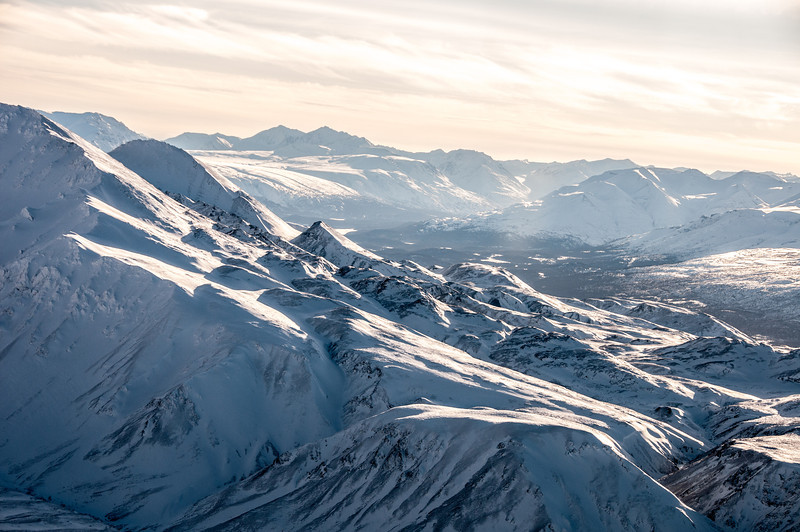 Kluane National Park in winter - Yukon, Canada