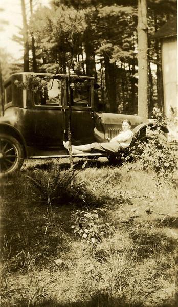 John Foote and his car