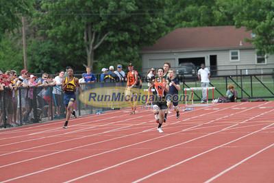 D1 Boys 400M Finals - 2013 MHSAA LP Track and Field Finals