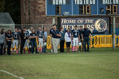 2013 Providence Football Senior Night