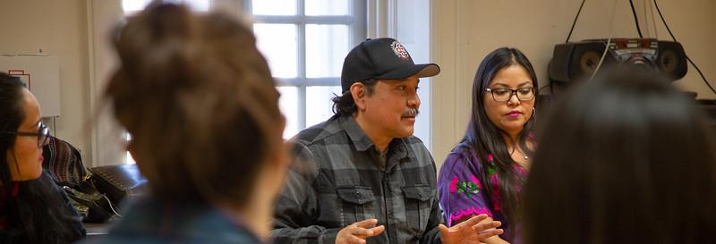 Artivism class with Mario Luna Romero & Anahí Ochoa