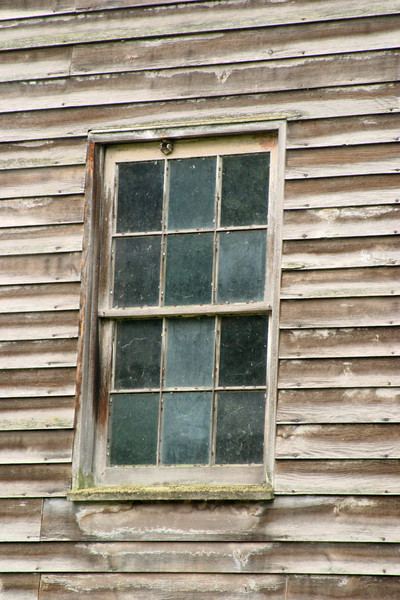 Window in Clapboard