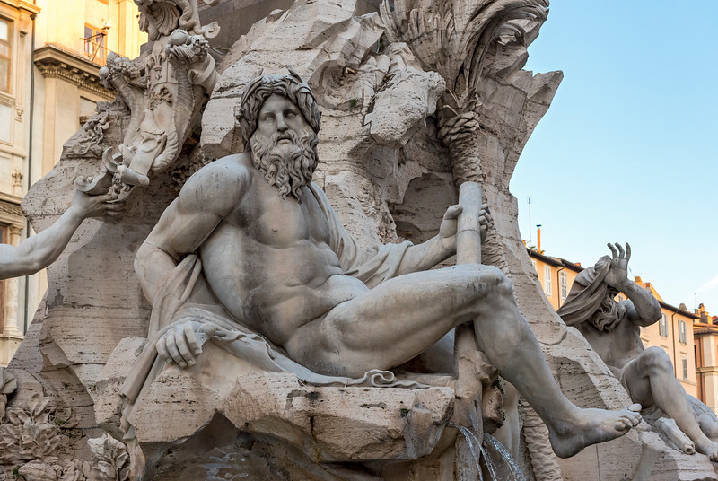 Fountain of Four Rivers, Rome