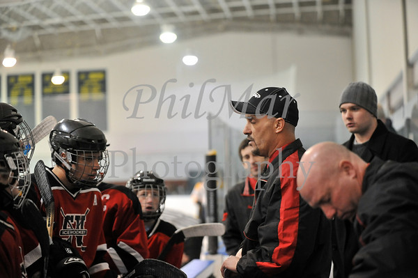 Governor Mifflin VS Schuylkill Valley Varsity Ice Hockey 2011 - 2012