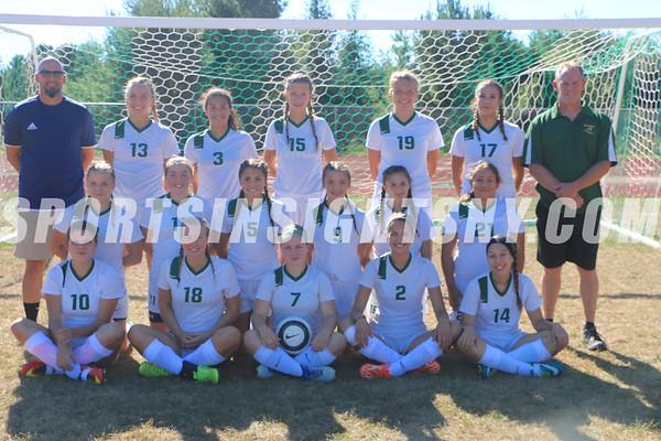 Eldred vs. Sullivan West Girls Soccer 9-12-16