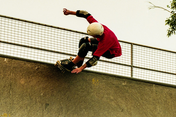 Skateboarding [Sydney, 1996]
