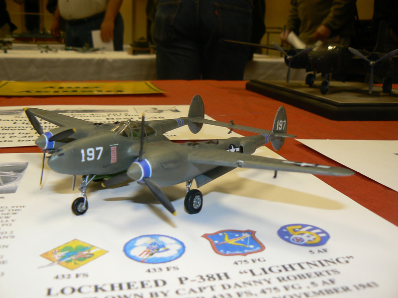 Albuquerque Scale Modelers meeting, 04 Oct 13, UNM Continuing Education  (photo by Frank Randall)
