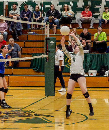 Set eight: Vashon Island High School Varsity Volleyball v Chimacum 09/20/2018