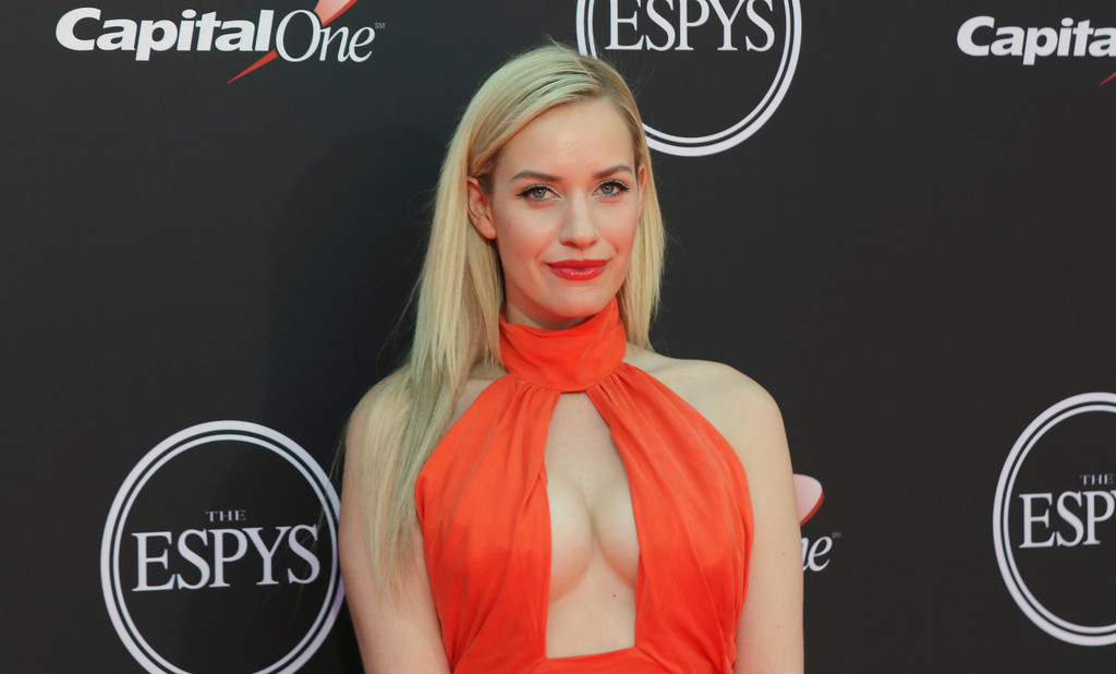 . Paige Spiranac arrives at the ESPY Awards at Microsoft Theater on Wednesday, July 18, 2018, in Los Angeles. (Photo by Willy Sanjuan/Invision/AP)