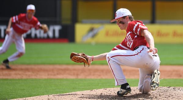 Class 4A state baseball: Drew Gilbert's third no-hitter moves Stillwater into semis
