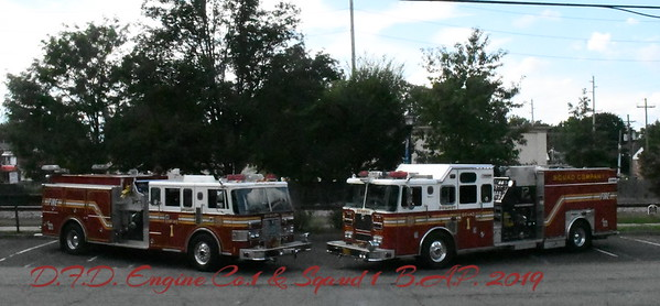 Dumont Fire Dept Engine Co.1 & Sqaud  Co.1