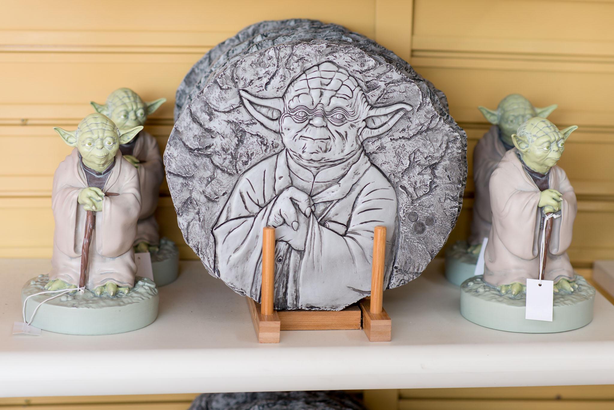 Yoda Paver - Epcot Flower & Garden Festival 2016