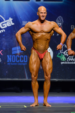 Novice Mens Bodybuilding Class 90kg