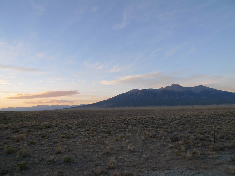 San Luis Valley Sunset