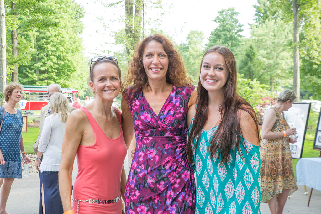 . Scenes from the United Way of Lake County\'s first Solstice Garden Party. The event hosted by the Women\'s Leadership Council raised nearly $9,000 in support of women and girls in need. (courtesy Katherine Kurkov)