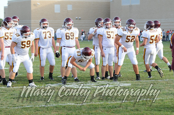 2013 Russell vs. Ironton 9/6/13