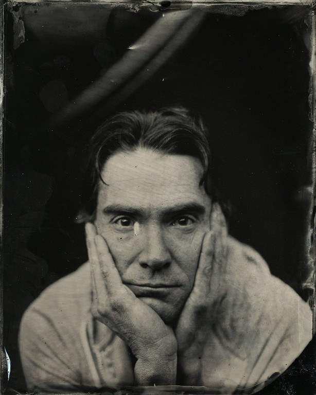 . Billy Crudup  poses for a tintype (wet collodion) portrait at The Collective and Gibson Lounge Powered by CEG, during the 2014 Sundance Film Festival in Park City, Utah. (Photo by Victoria Will/Invision/AP)