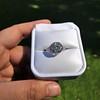.90ct Vintage Round Brilliant Diamond Solitaire 8