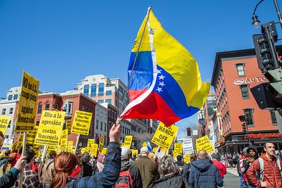US Hands Off Venezuela - DC