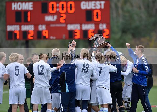 Varsity Soccer Grand Rapids South Christian vs Williamston State Final