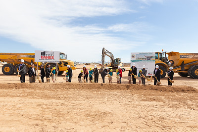 Pebble Hills new Elementary Groundbreaking