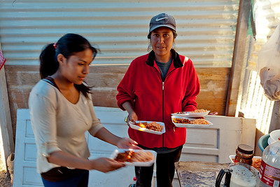 Casita Linda at work in Pantoja