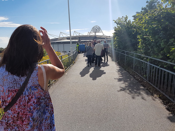 2017-07-01 Bike ride to Burton constable and ELO in concert later