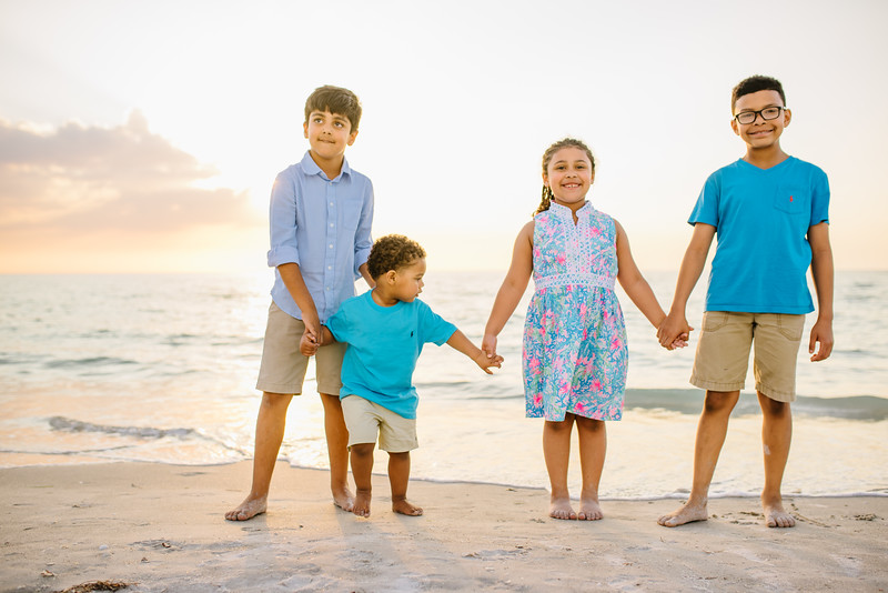 Clearwater Beach Family photos at Sand Key