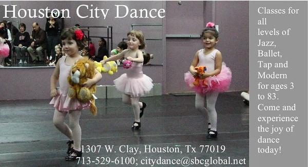 City Dance ads