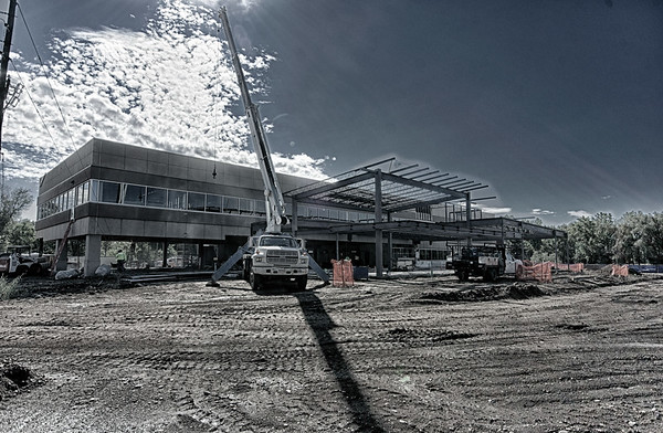 Exterior Progress - 2nd Floor Additions