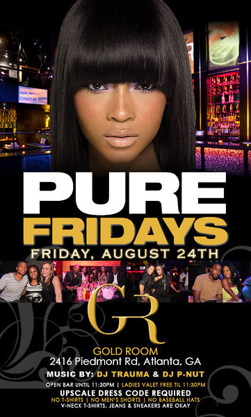 August-24-2012 ::: PURE Fridays @ The Gold Room ::: ATL, GA, USA