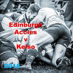 Edinburgh Accies v Kelso 2016