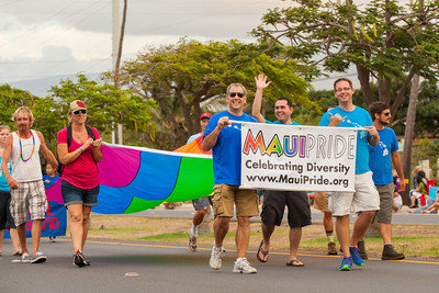 Maui Pride 2013 Fair Parade