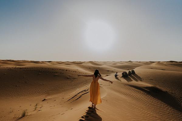 H + V | Elopement Hochzeit in der Wüste Sahara
