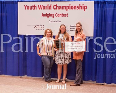 2019 AjPHA/ApHC Youth World Championship Judging Content