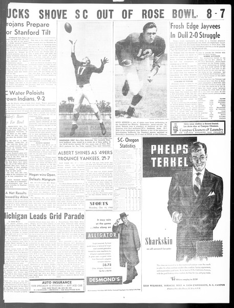 Daily Trojan, Vol. 40, No. 26, October 18, 1948