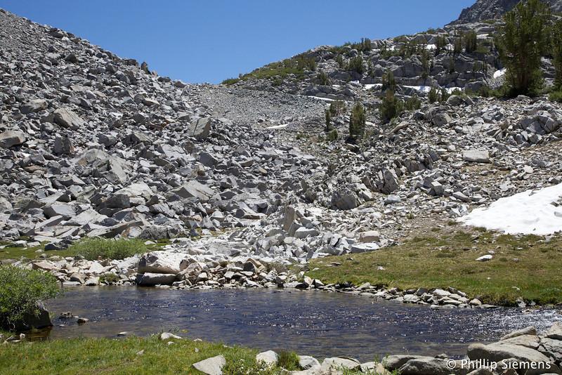 Morgan Pass,  11,120 ft