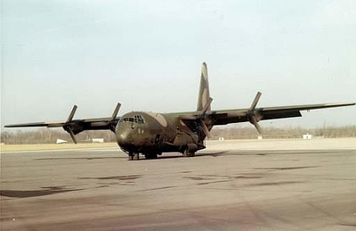 Lockheed C-130 Hercules an American four-engine turboprop military transport aircraft