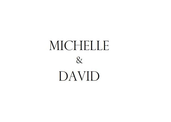 Michelle and David