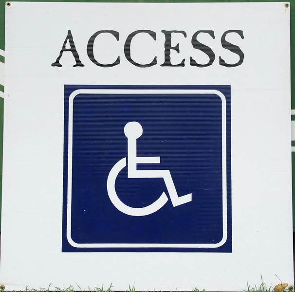 Access and disabled logo